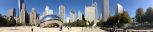 The Bean Chicago Panoramic Picture. Purchase this beautiful panorama and more by visiting http://panoramicpanorama.com
