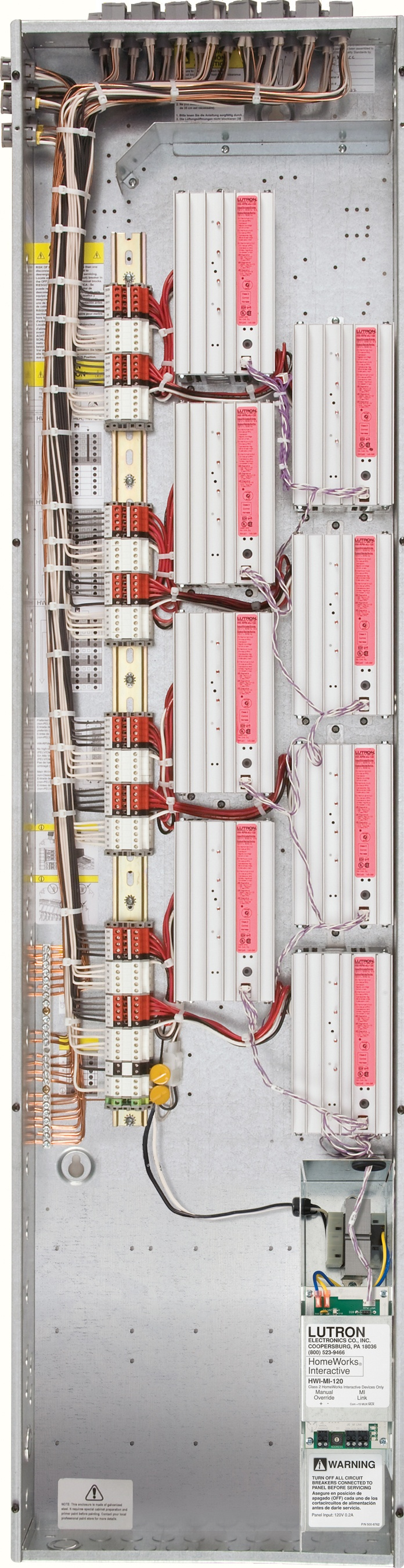 lutron homeworks hard wired lighting control panel this is where Lutron Homeworks Wiring Diagram lutron homeworks hard wired lighting control panel this is where all the lighting loads get wired in lighting control pinterest lights, lutron homeworks wiring diagram