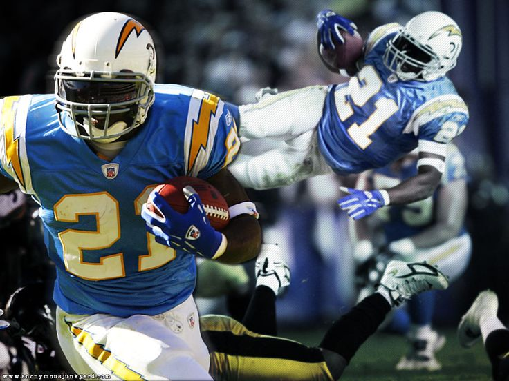 1000+ images about San Diego Chargers on Pinterest ... Ladainian Tomlinson Running