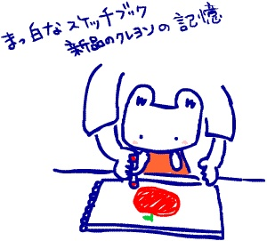 ~自然の休憩所~ Berry's Life うっかり日記 2012年9月27日 うっかりウサギが保育園に入ったのは3才の時。  一番最初のお絵描きの時間、真っ白いスケッチブックに  「何でも好きな絵を描きなさい」と言われた。  他の子はすぐにクレヨンを持って、グチャグチャに何やら描いていた。    白い画用紙と新品のクレヨンを使うのがもったいなくて  たぶん2時間ぐらい、何も描かずにいたら、  お絵描きの時間が終了して、みんな片付けを始めた。    先生に何も描いてないのを発見され、  「ゆきちゃん!りんご描こうね!」  と、無理矢理赤いクレヨンを握らせれ、  ぐるぐるっと、ど真ん中に丸を描いて葉っぱをつけて  保育園最初の絵は無理矢理描かされた「りんご」だった。  つまんない絵を描かされたと思って  悔しかった。   http://berryslife.com
