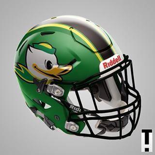 Oregon Ducks Concept: Puddles