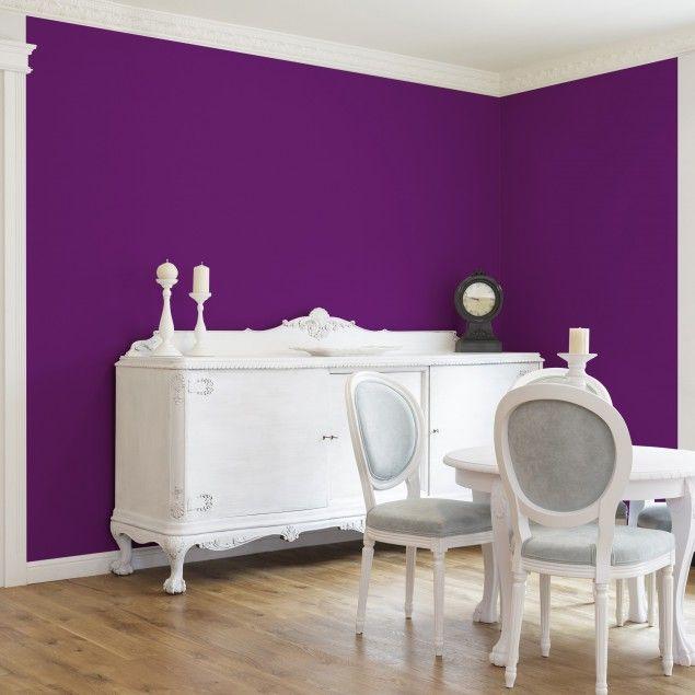 #Vliestapete   Colour Purple   Uni Tapete Breit #uni #Tapete #einfarbige