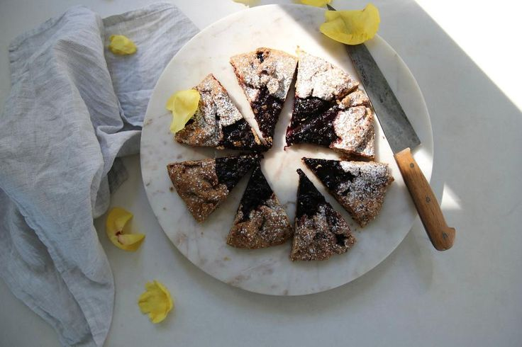 Cinnamon-Spiced Galette with Black Doris Plums Recipe - Viva
