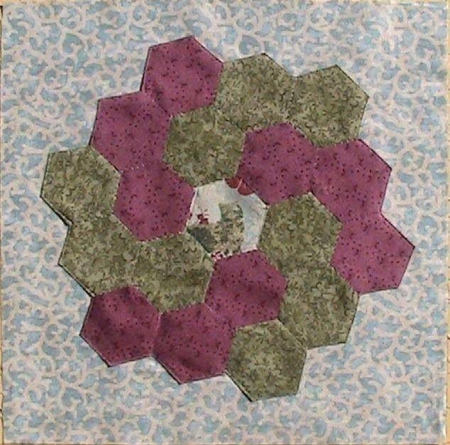 Another idea of how to arrange hexagons