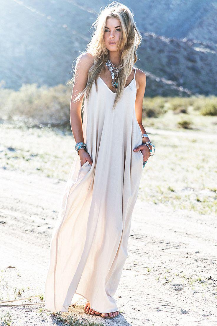 Fashion Hippie Women Summer Boho Long Maxi Party Dress Beach Dresses Sundress on Luulla