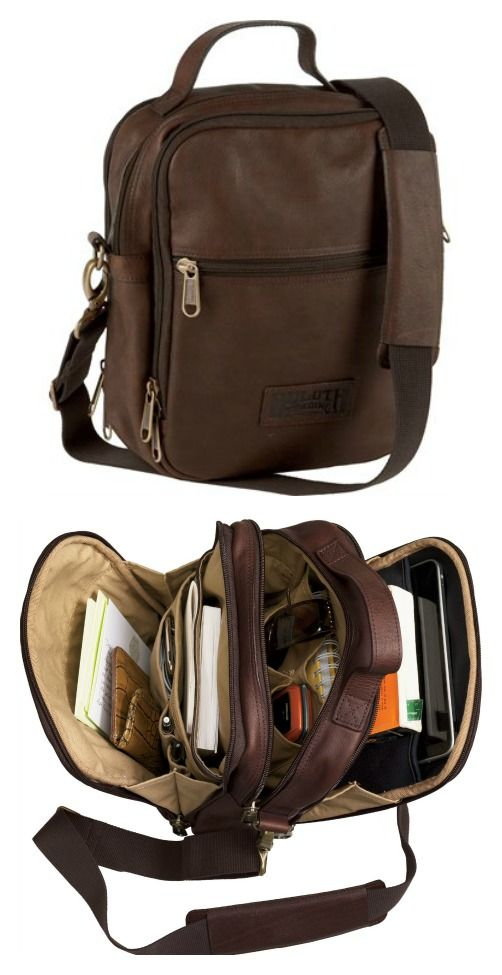 Lifetime Leather Travel Bag's plethora of smart pockets keeps all your essentials close at hand. This Duluth Trading Company exclusive is made of beautiful full-grain leather.