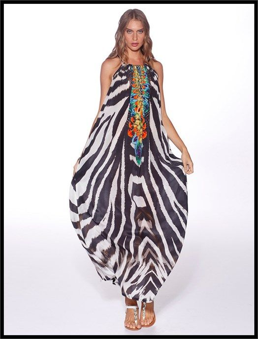 Tanzania Maxi Dress by Honey & Beau at Village Chic - $179.95 AUD