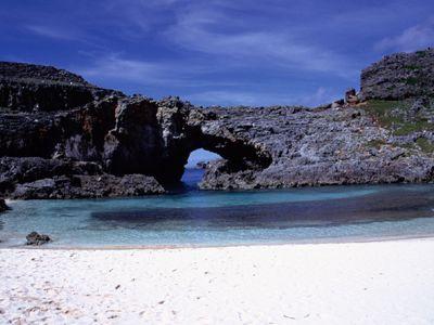 小笠原諸島。南島