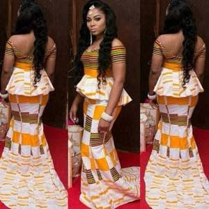 African Dresses Ankara Style http://www.dezangozone.com/2016/05/african-dresses-ankara-style_18.html