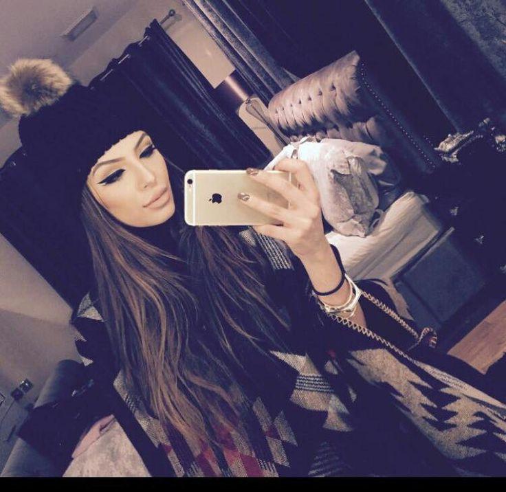 Faryal makhdoom winter selfie