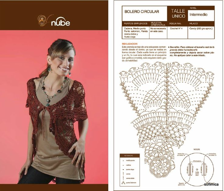 75 best CROCHET O DOS AGUJAS sacos circulares images on Pinterest ...