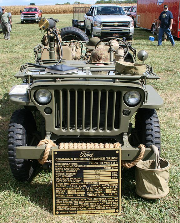 1942 Ford Made Jeep GPW MB Jeep T Jeeps Ford And