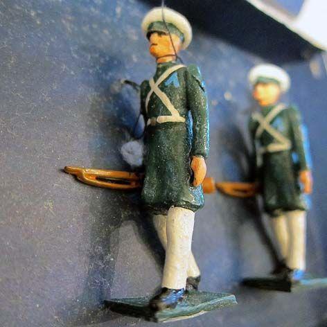Soldados de juguete fabricados en América del Sur y México: Pessot