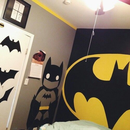 45 best masons batman room images on Pinterest Bedroom ideas - batman bedroom ideas