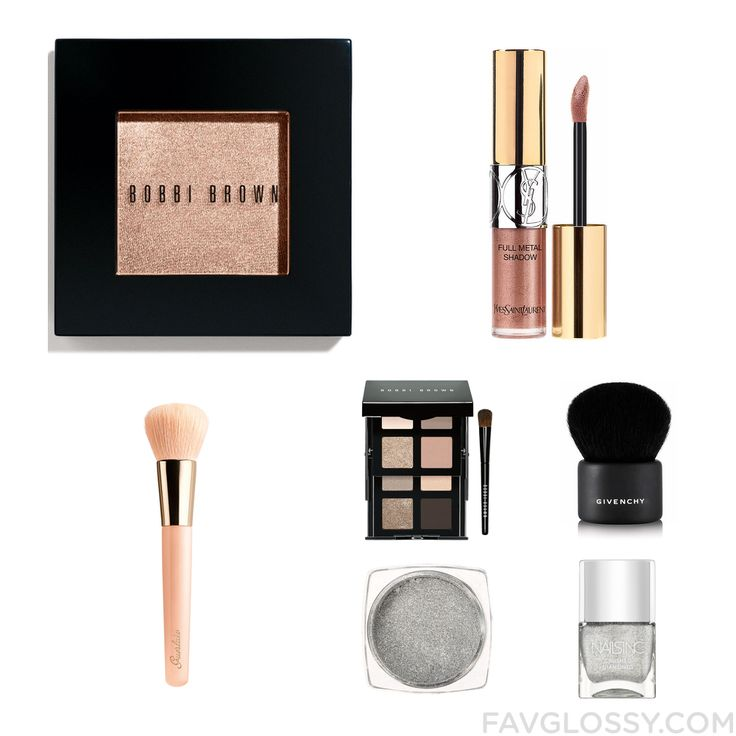 Makeup Update With Bobbi Brown Cosmetics Eyeshadow Yves Saint Laurent Guerlain Makeup Brush And Palette Eyeshadow From November 2016 #beauty #makeup