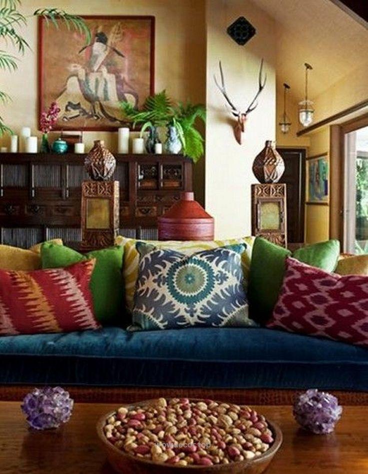 125 adorable bohemian style decor ideas wwwfuturistarchi httpwww - Bohemian Design Ideas