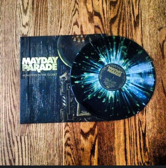 Mayday Parade Quot Monsters In The Closet Quot Vinyl