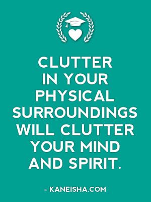 I agree! This is why I cannot stand trinkets or collect things...they add up to clutter and i hate clutter!