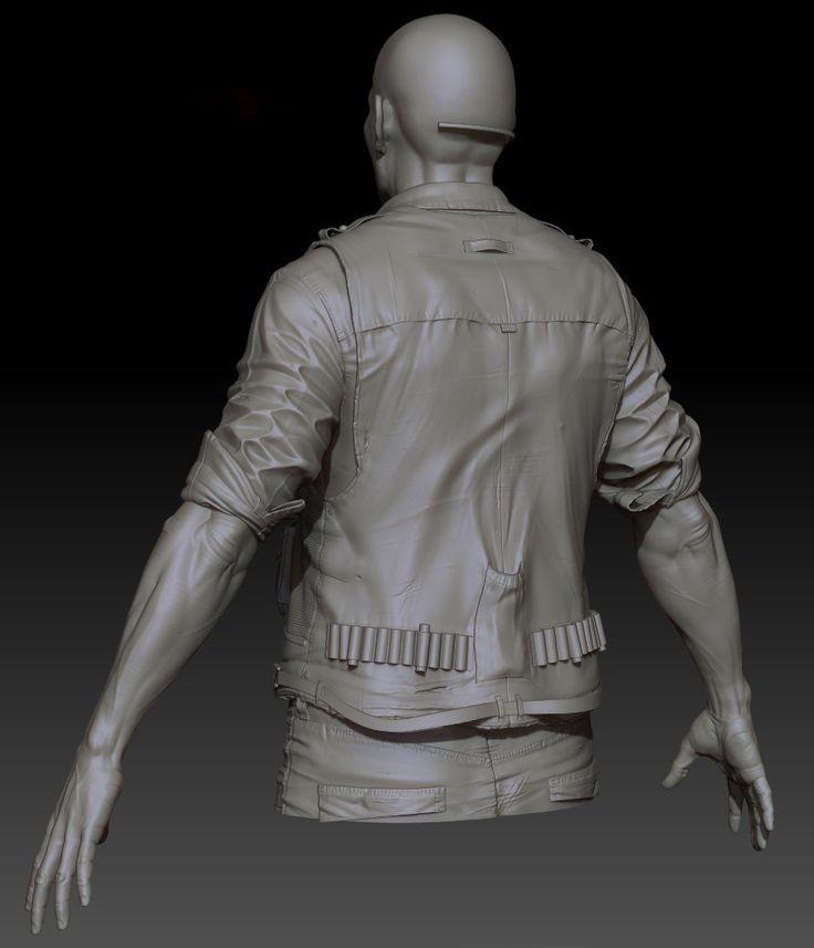 ArtStation - Clothing sculpt 1, Jon Berry