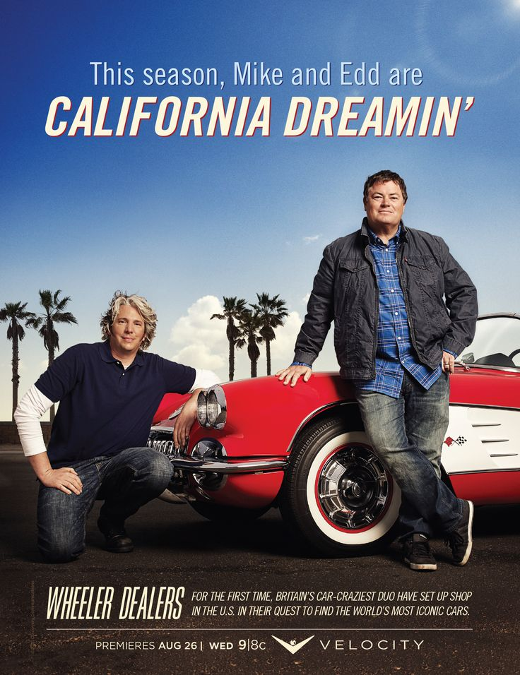 Don't miss the new season of Wheeler Dealers coming to the V August 26 @ 9/8c