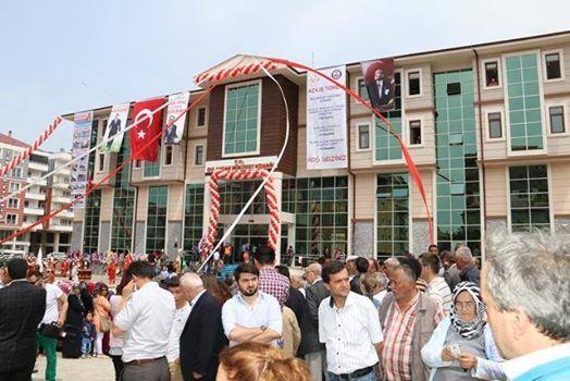 Bulancak Kaymakamlık binası hizmete girdikten sonra ana kapı vatandaşlara kapatıldı