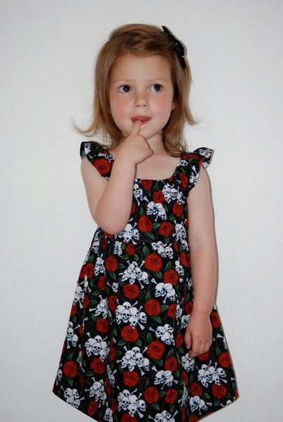 Rockabilly flower girl idea