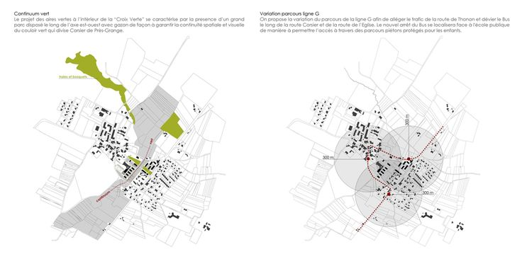 OPERASTUDIO - Project - Social housing in Switzerland - Urban transformation #urban #green #Gline