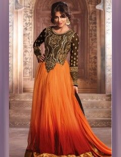 Party Wear dress in a stunning combination of colors.