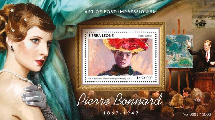 SRL15418b Pierre Bonnard (Girl in Straw Hat, 1903)