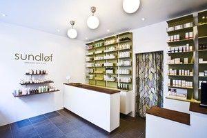 Sundløf - En supermysig liten shoppingpärla för den som gillar ekologisk hudvård, hårvård, make-up och parfym. Och det gör ju vi!