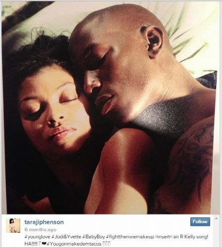 Tyrese and Taraji P. Henson's cutest Instagram photos