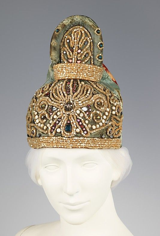 Early 19th century Russian Headdress, Metropolitan Museum