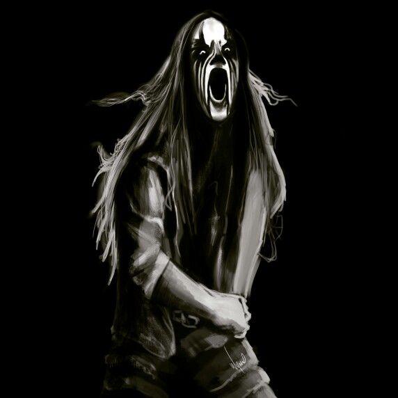 A black metal piece