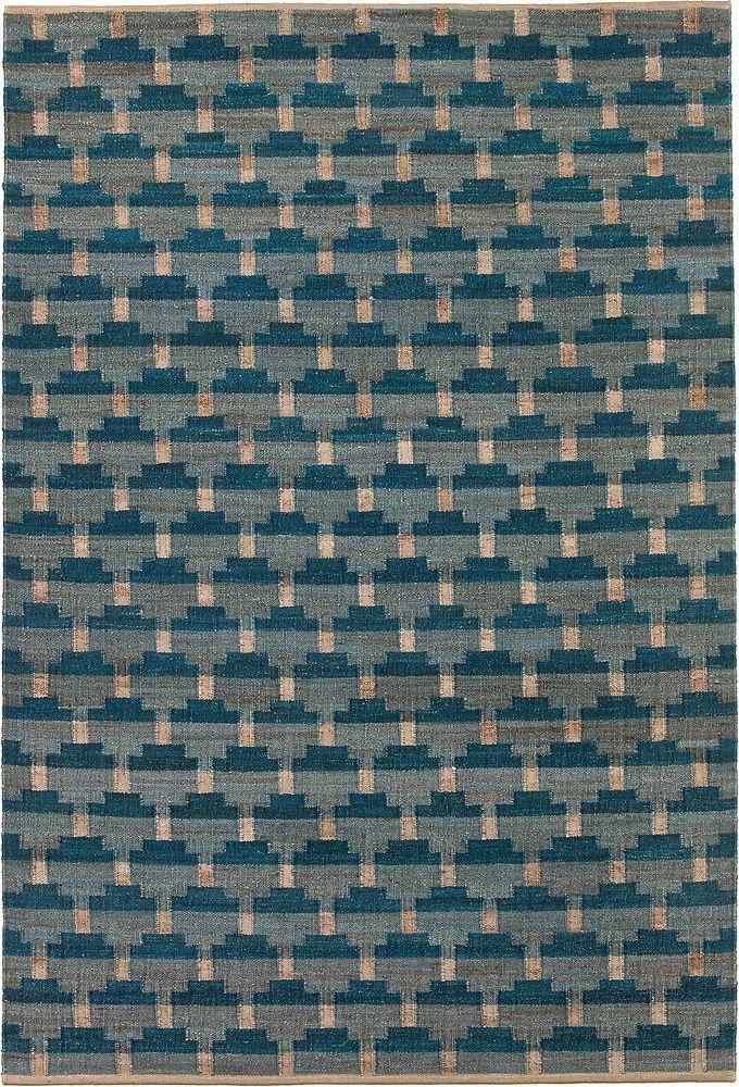 Hemp rug Concect Denim by Brita sweden
