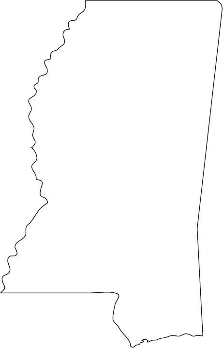 Progressively Harder Us States By Outline