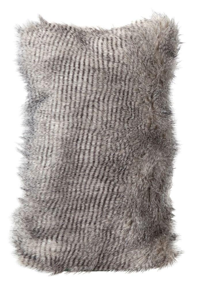 Sierkussen Feather: aaibaar en warm voor de winter