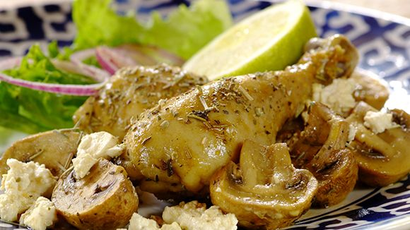 Creamy Lemon Chicken Cooked in a Bag