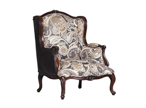Fat Boy Arm Chair Excl Fabric And Chord - Walnut Finish Measurements 760 x 760 x 1000