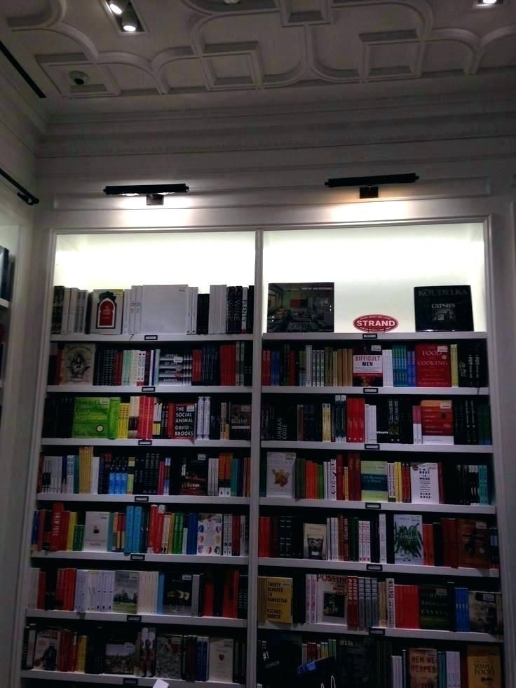 Bookshelf Lighting Ideas Library Bookcase