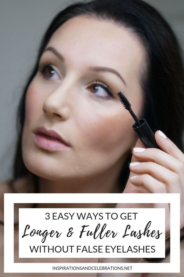 3 Easy Ways To Get Longer and Fuller Lashes without False ...