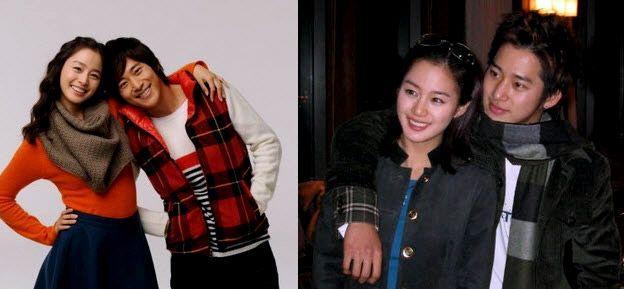Good looks obviously run in Kim Taehee's family.