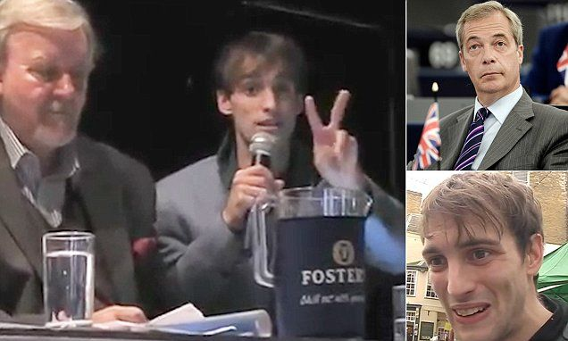 Farage's UKIP party aide is a 'predatory and dangerous paedophile' #DailyMail