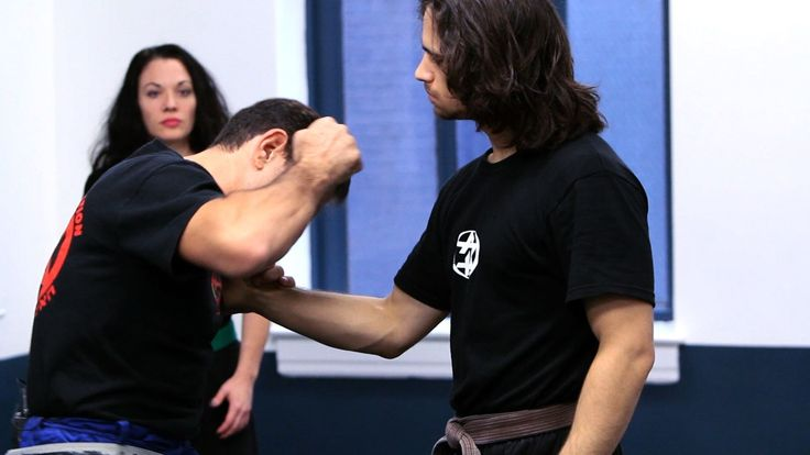 How to Defend against Front Shirt Grab | Krav Maga Defense