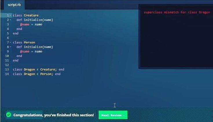 "A class can only inherit from 1 super class unless you use mixins!   #rubyonrails #ruby #ror #webdev #html #css #javascript #java #angularjs #techgirl #girlswhocode #codecademy #programming #code #dev #programmer #coding #hacks #codelife #codeislife #computer #girlpower #womenwhocode #womenintech #softwaredeveloper #softwareengineer #computerscience #developer #development  #webdevelopment"""