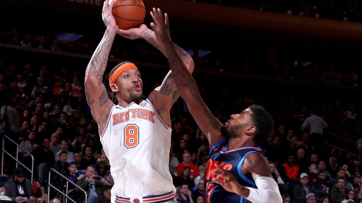 Shorthanded New York Knicks show signs of growth during Carmelo Anthony's return | NBA.com