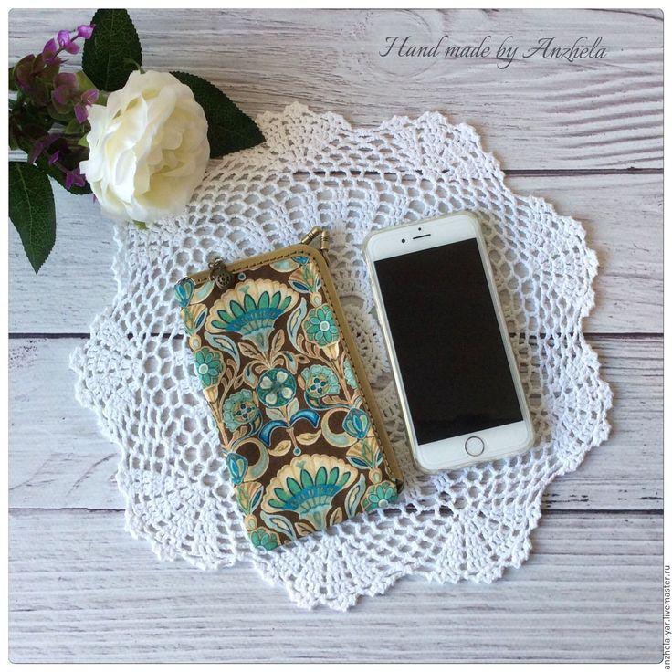 """Купить Чехол """"Шик"""" для мобильного телефона - комбинированный, аксессуары, Аксессуары handmade, чехол для мобильного"""