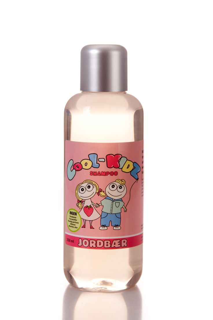 Strawberry Shampoo 250 ml.  All natural ingredients. Mild cleansing. Protects and strengthens the hair shaft. Suitable for all hair types.  139 DKK