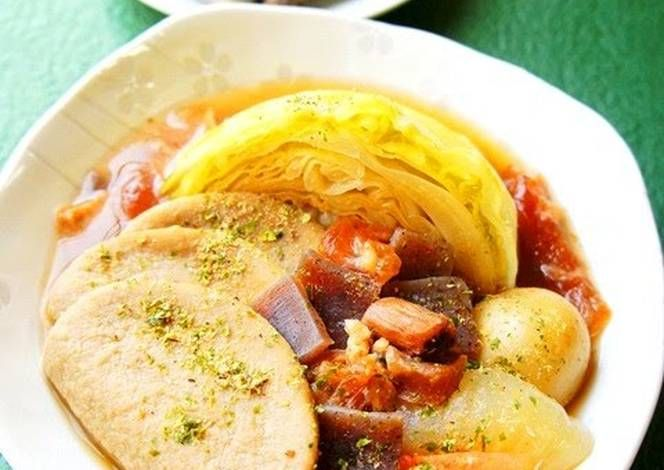 Shikuoka Oden-style Spring Veggie Pot-Au-Feu with Wasabi Sauce Recipe -  Yummy this dish is very delicous. Let's make Shikuoka Oden-style Spring Veggie Pot-Au-Feu with Wasabi Sauce in your home!