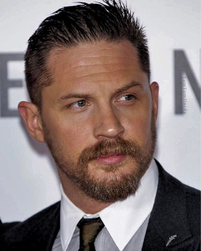 Tom Hardy l Hairstyles