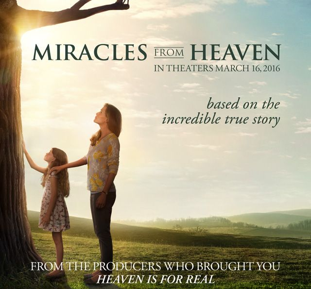 Free Advanced screening passes in Miami for MIRACLES FROM HEAVEN is based on the incredible true story of the Beam family. When Christy (Jennifer Garner) discovers her 10-year-old daughter Anna (Kylie Rogers) has a rare, incurable disease, s…